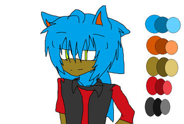 Zack Dominck The Hedgehog by Clarissagriffith