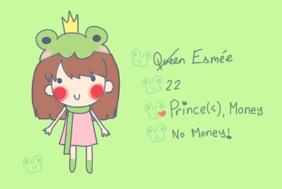 Deviant ID - Queen of Frogs by EsmeeLexi