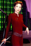 Sexy Kira Nerys so hot in her tight bodysuit by CaptP1