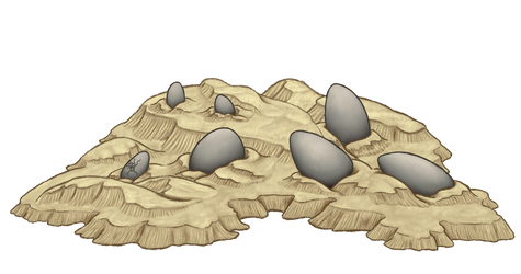 Recolorable Sand Templates - Pern