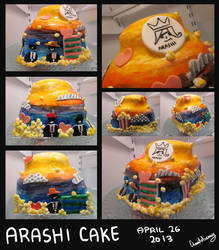 Arashi Cake by Chesutoberry