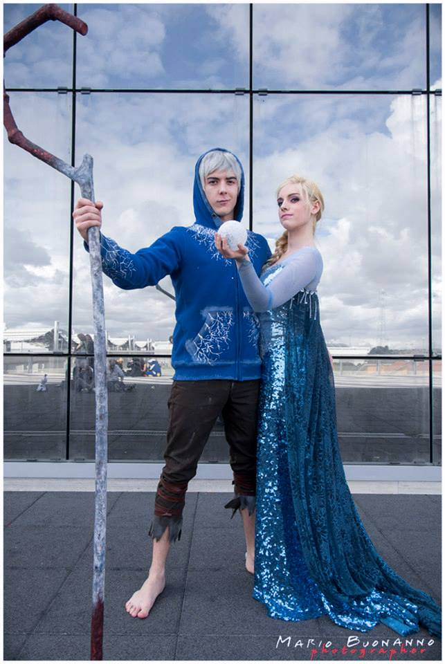 Bien-aimé Elsa x Jack Frost by JuliaJamescosplay94 on DeviantArt SX67