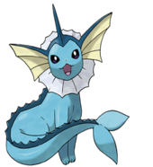 Vaporeon by BlueTheVaporeon
