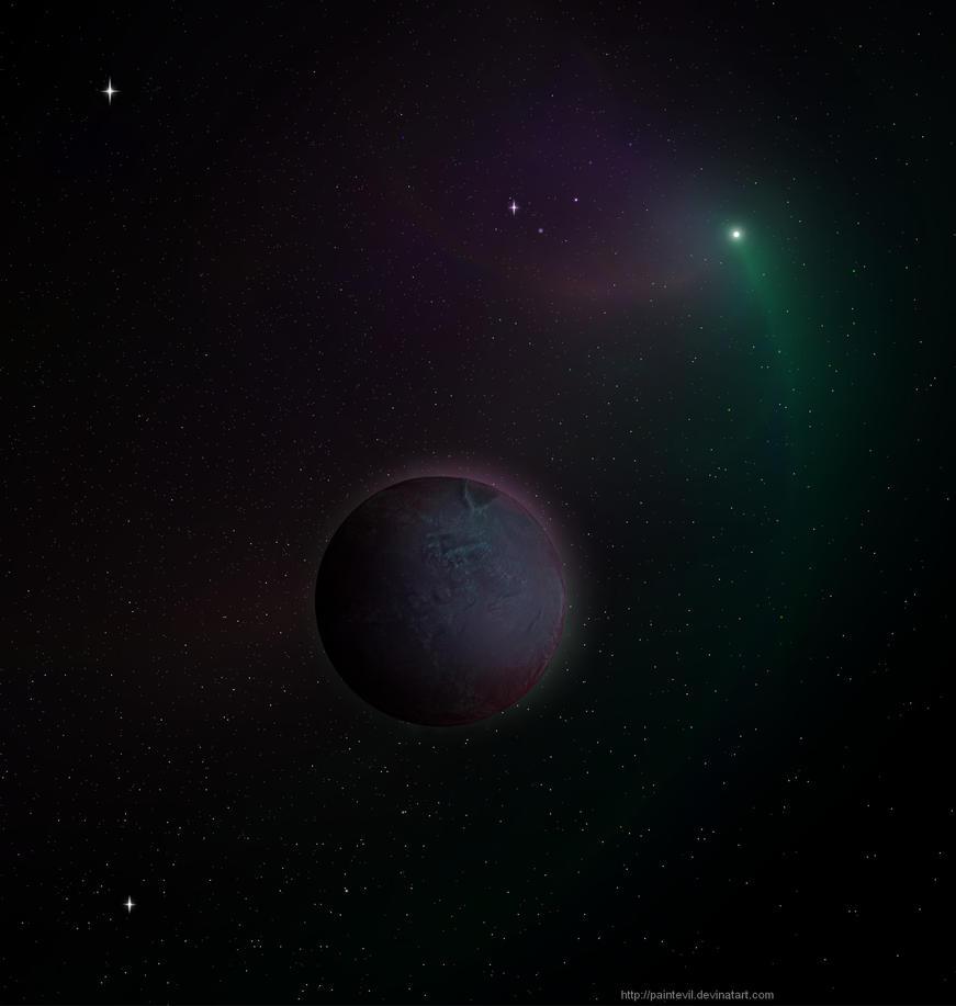 Planet X by paintevil