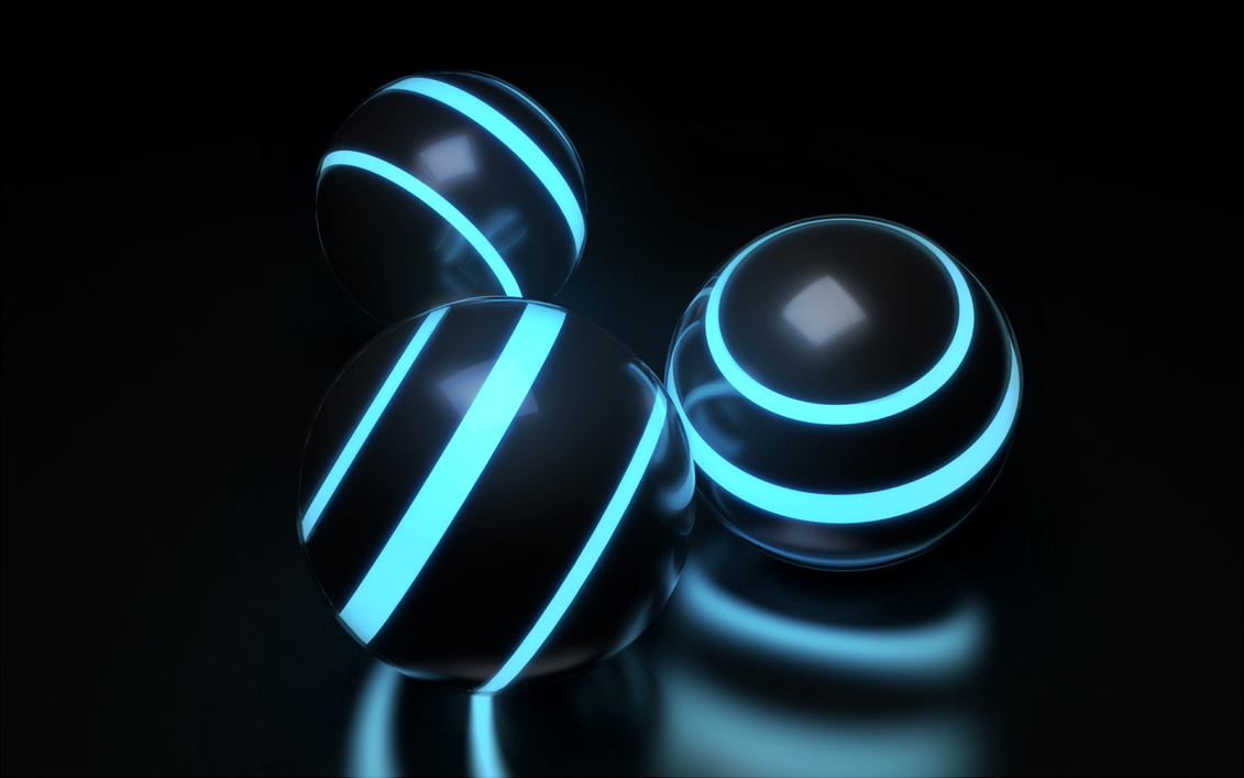 Sci-fi Orbs by paintevil