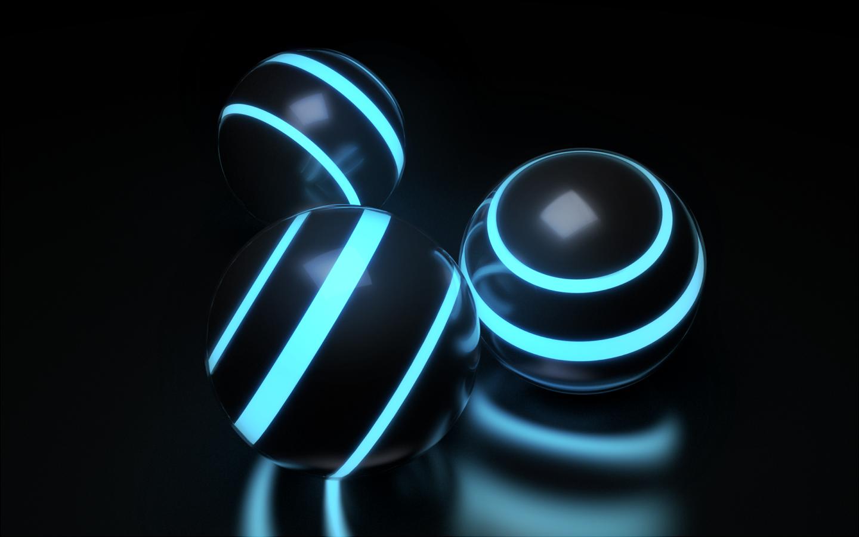 Sci-fi Orbs by paintevil