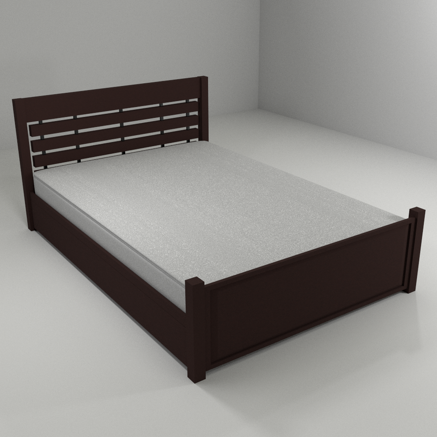 Bed by paintevil