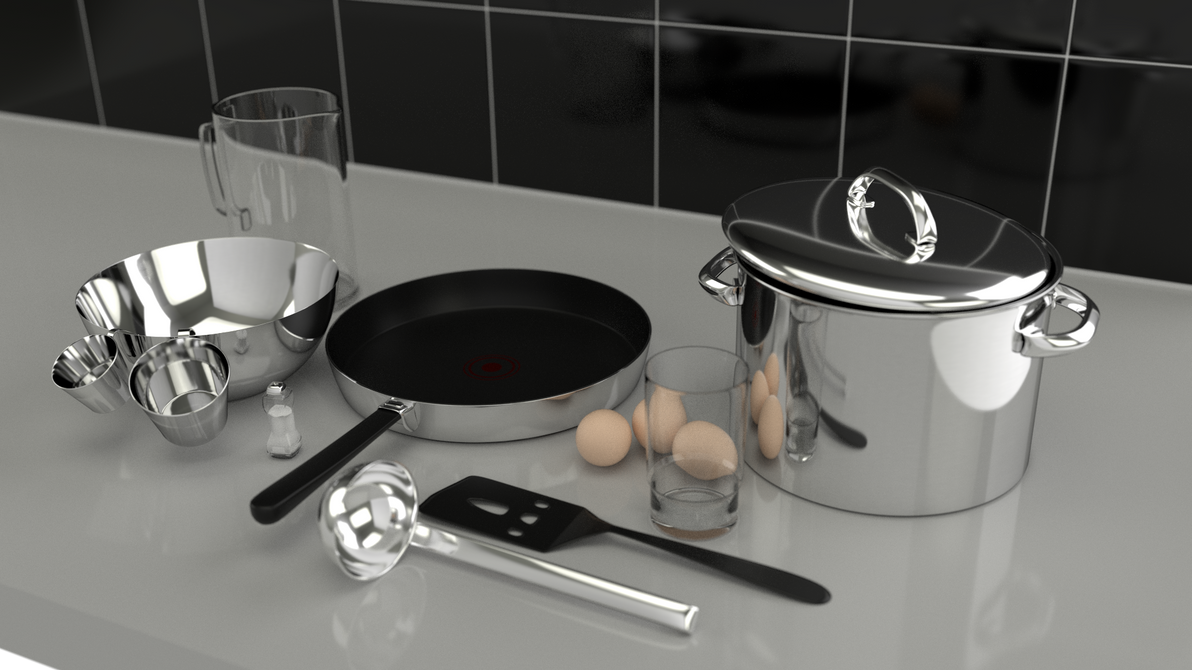 Kitchenware by paintevil
