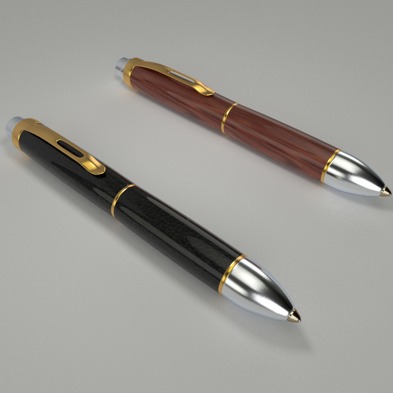 Two Pens by paintevil