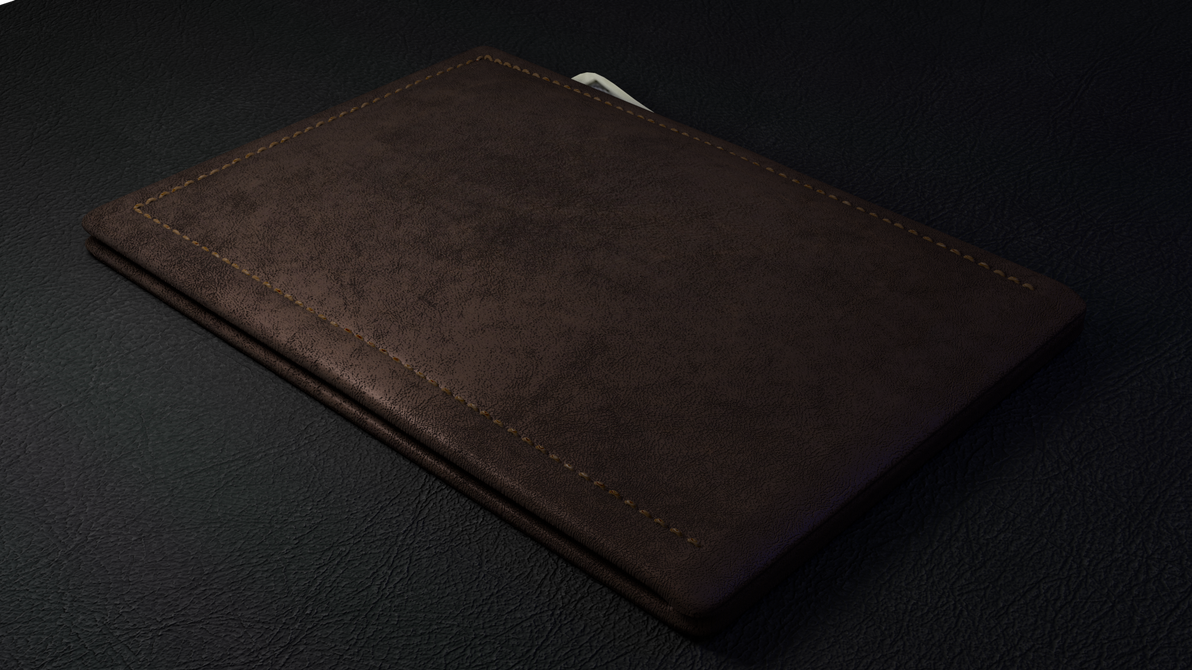 Leather Wallet by paintevil