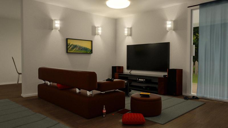 Livingroom by paintevil