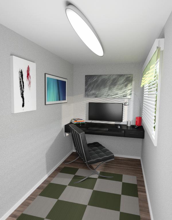 Workstation by paintevil
