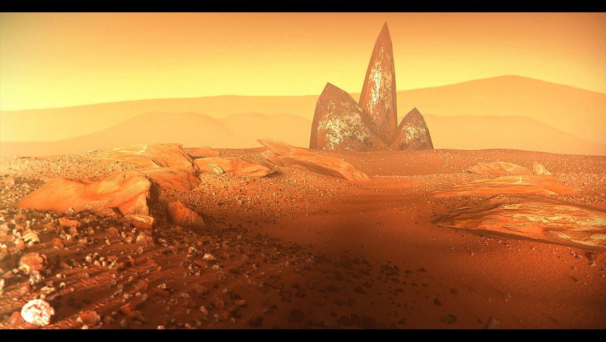 Alien Land by paintevil