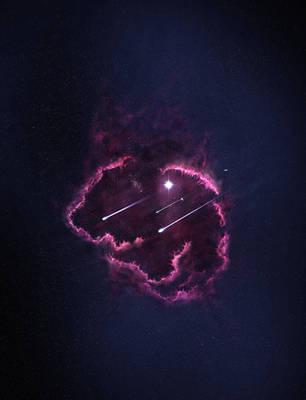 The Kardia nebula by paintevil
