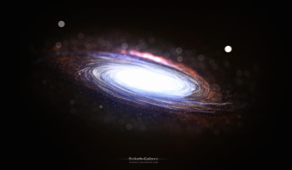 Bokeh Galaxy by paintevil