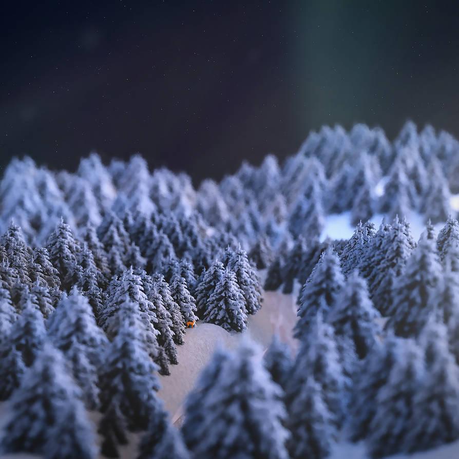Winter by paintevil