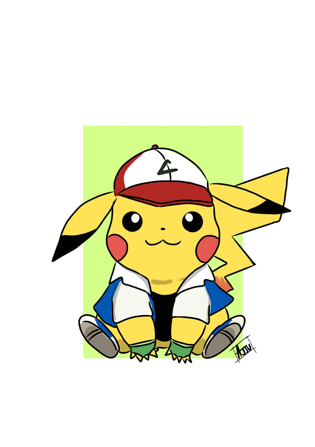Pikachu :ash cosplay