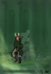 Aerin the elf by AJJUrey