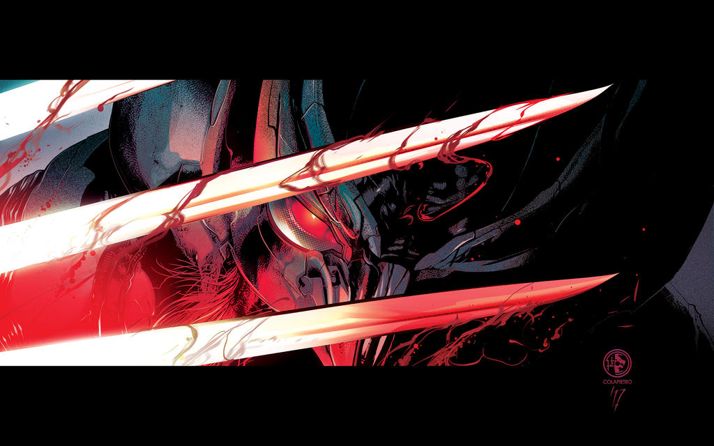 X-FORCE - Wolverine commission by LeoColapietroArt