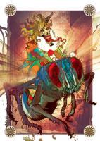 MODERN DREAD - prize print for backers by LeoColapietroArt