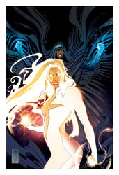 CLOACK and DAGGER  print commission by LeoColapietroArt