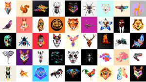 FACETS BEASTS TILE