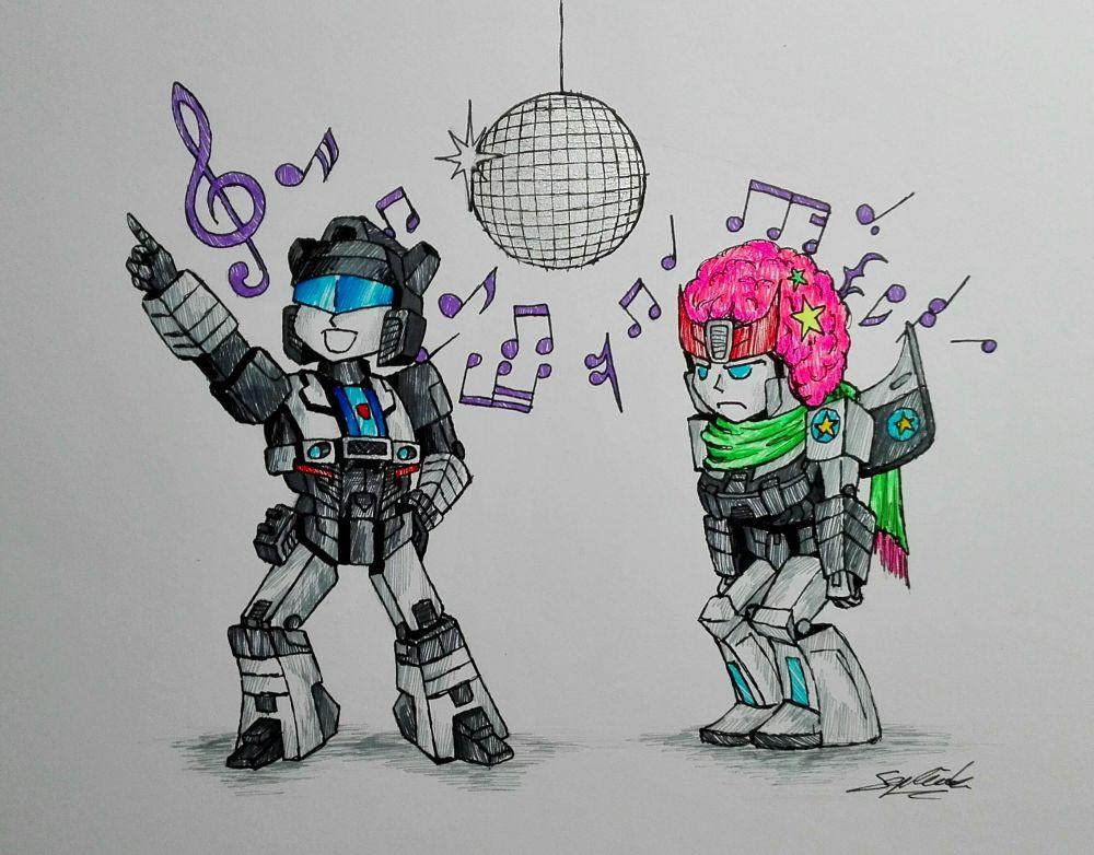 Disco Time by StarKite1