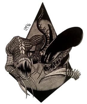 Vraal Vs. Xenomorph