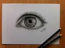 Eye - practice - by CorinnaMariaArt
