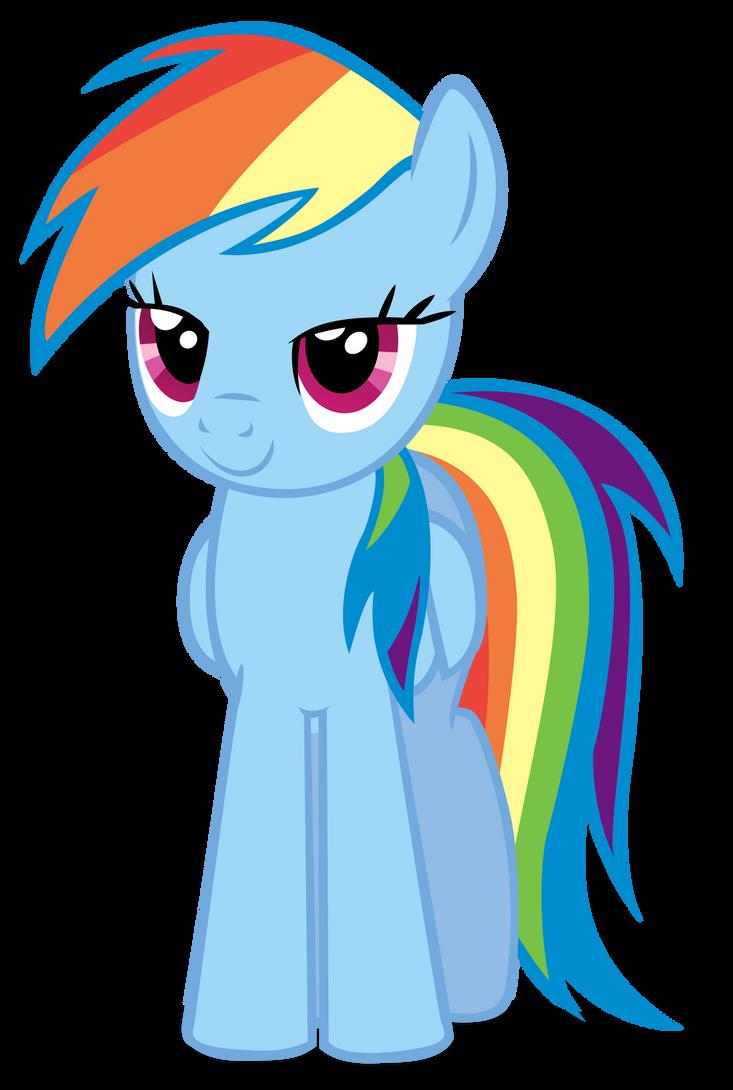 Rainbow Dash - Just Starin... by aeroyTechyon-X