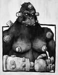 Gorilla Cyborg