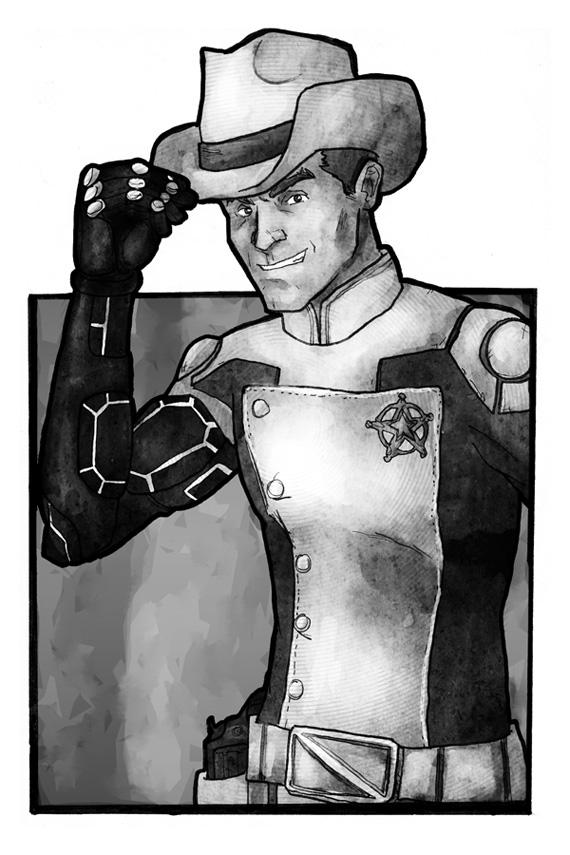 Giddy up Cyborg