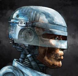 Robot Cop by LukeDenby