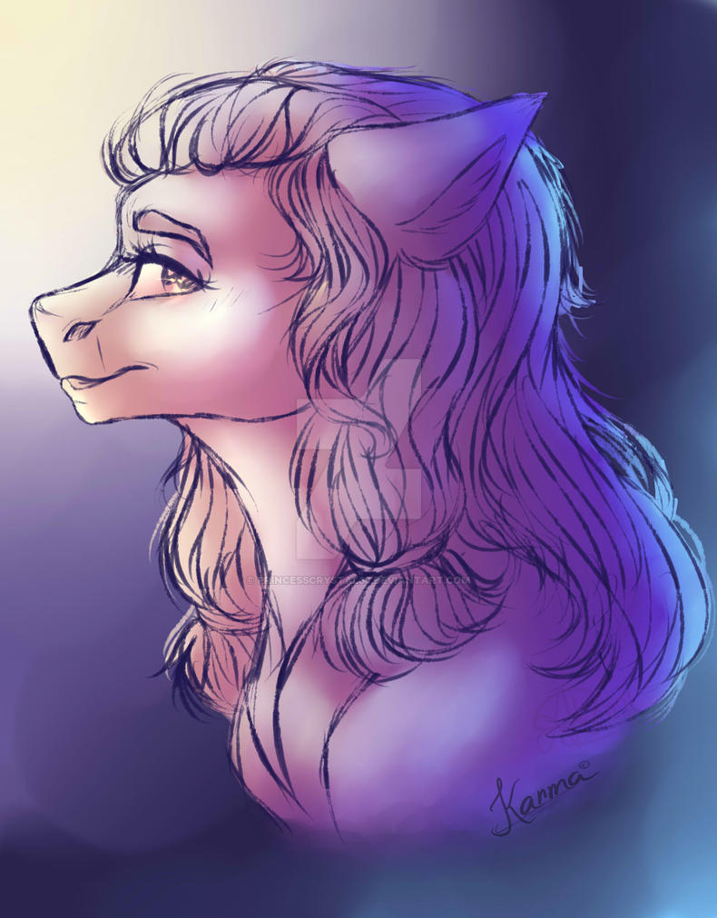 First drawing i ever made on SAI by PrincessCrystal36