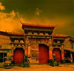 Gate, Tashilumpo