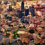 Aerial map, London - 5-2