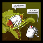 Marshamallow Flytrap