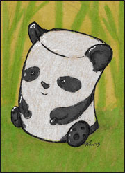 Marshmallow Panda by Twitchy-Kitty-Studio
