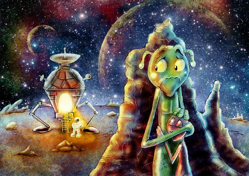 Alien-fear by StephaneMathieu