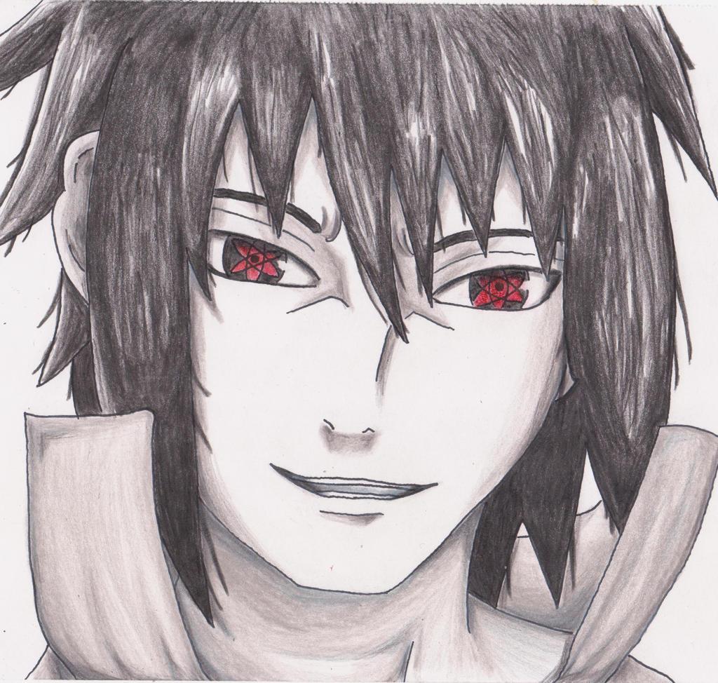 Uchiha Sasuke (Mangekyou Sharingan) by CriviumARTGAME on ...