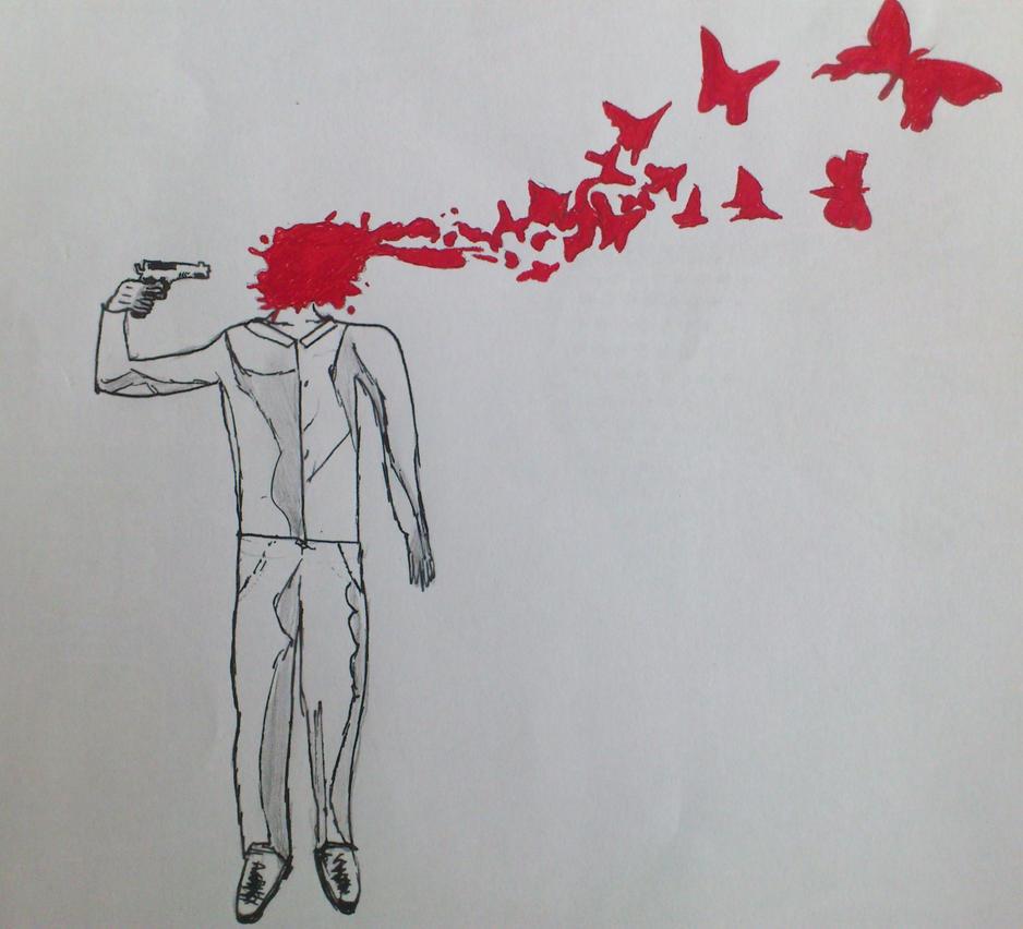 Прикол самоубийца картинка
