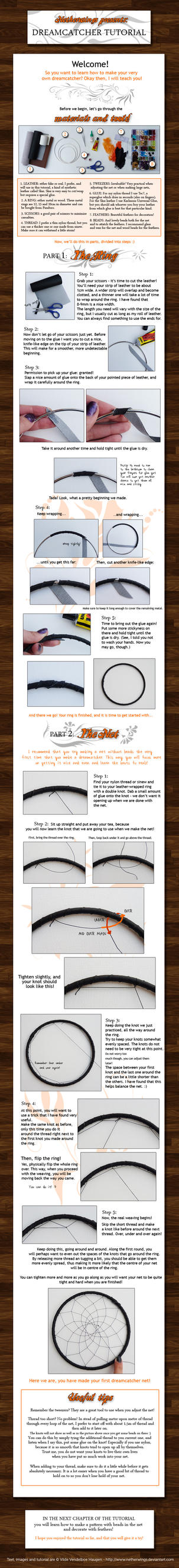 Dreamcatcher tutorial: Ch. 1 by netherwings