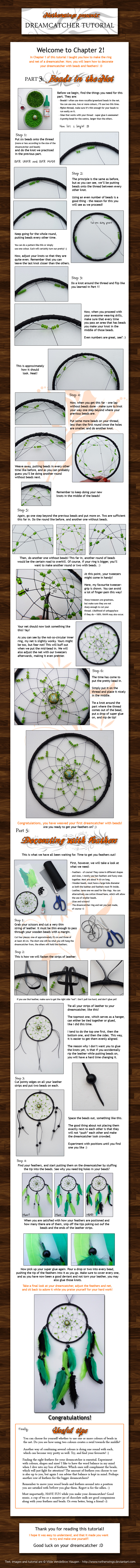 Dreamcatcher tutorial: Ch. 2 by netherwings
