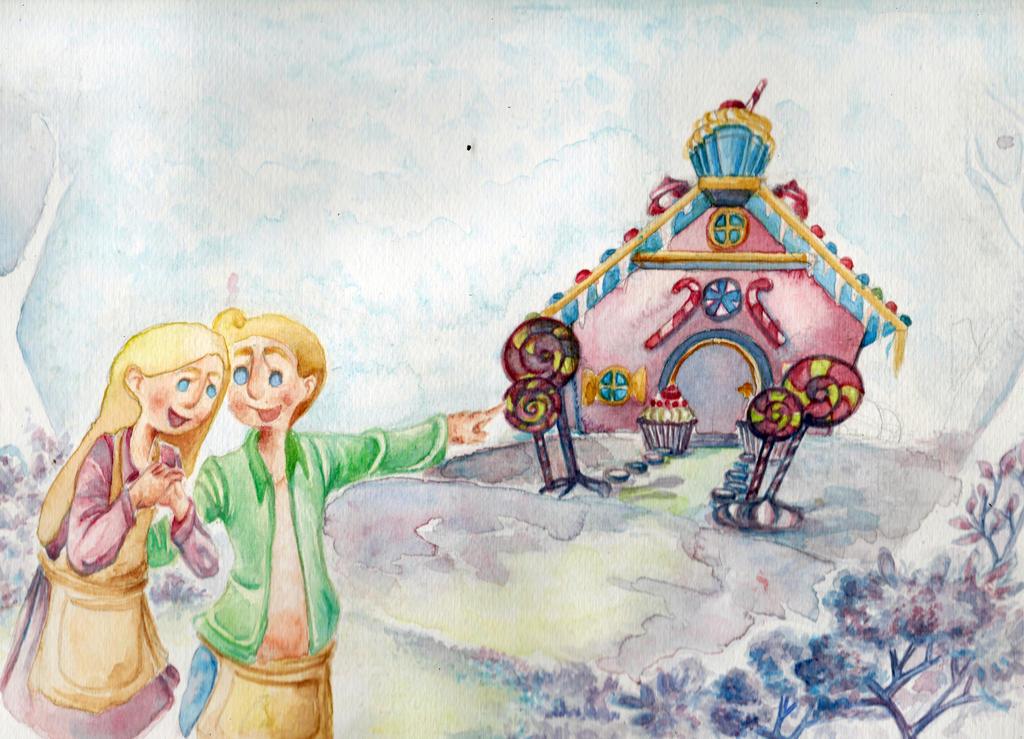 Hansel and Gretel: sweet hope by Ari-Bo