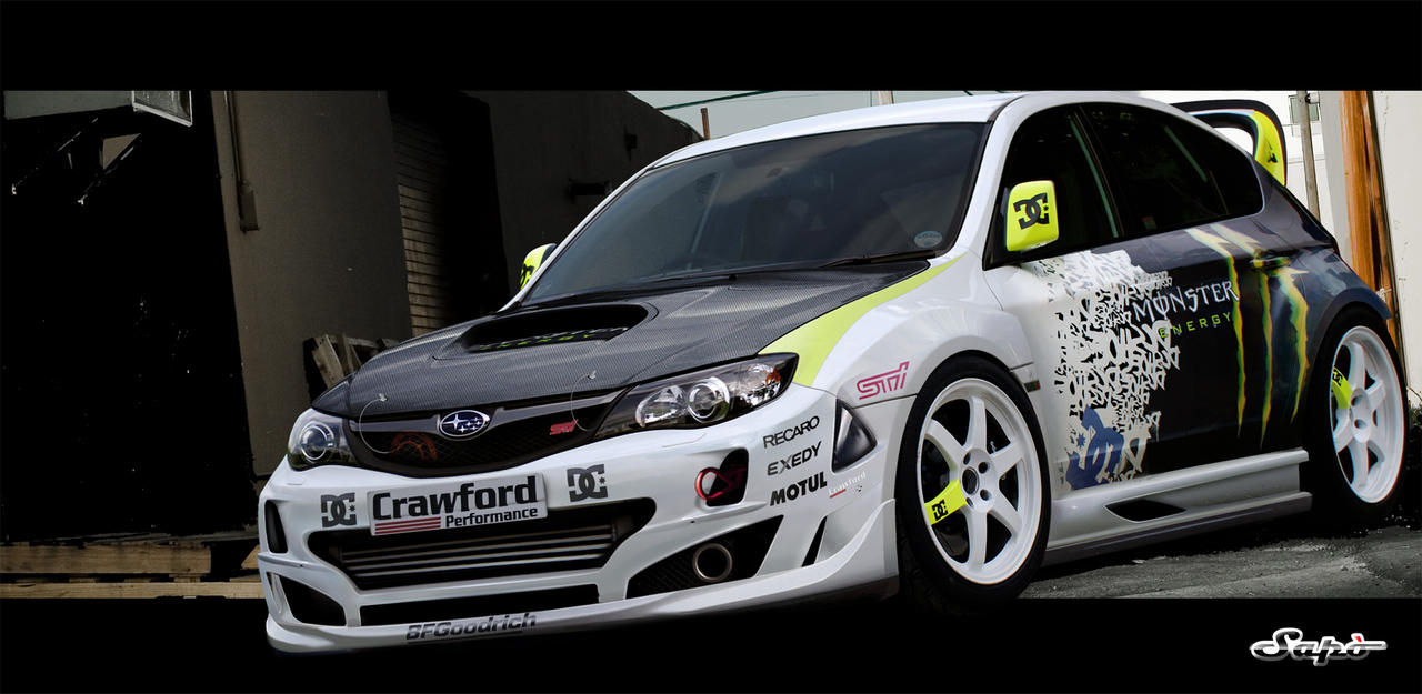 Subaru Impreza DC Shoes By Saporita ...
