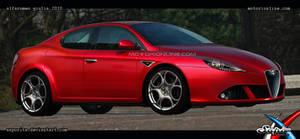 Alfa Giulia - Rendering by Saporita