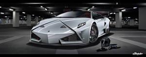 Lamborghini GTR Concept by Saporita