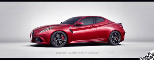 Alfa Giulia-Gtv by Saporita