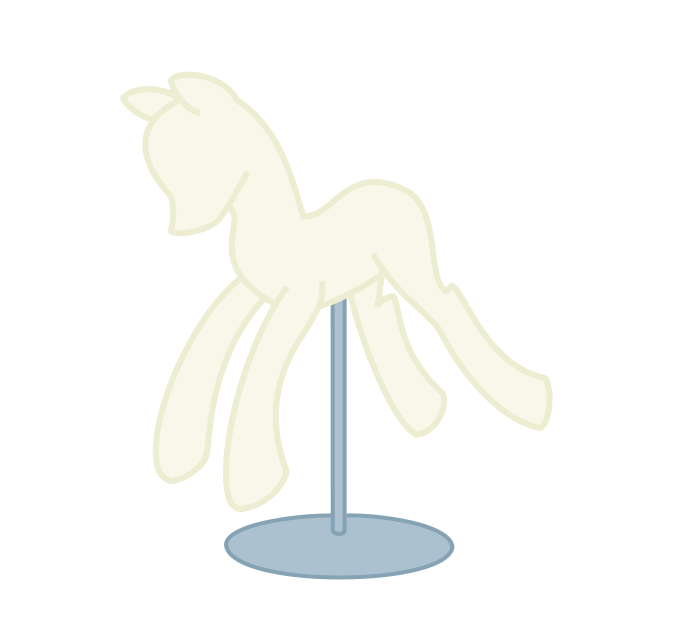Pony Mannequin by Angelkitty17