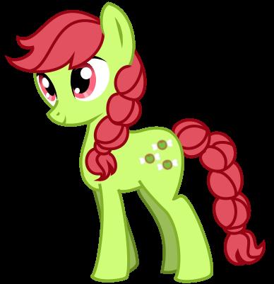 Earth Pony - Appletaffy by Angelkitty17